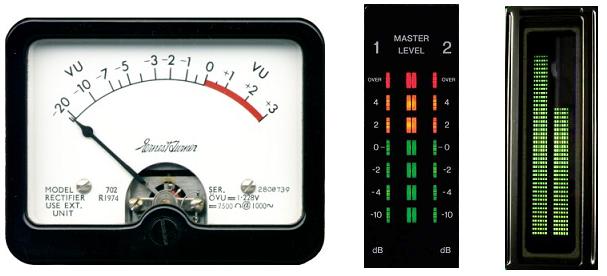 Vúmetro Analógico | Vúmetro de Leds | Vúmetro LCD
