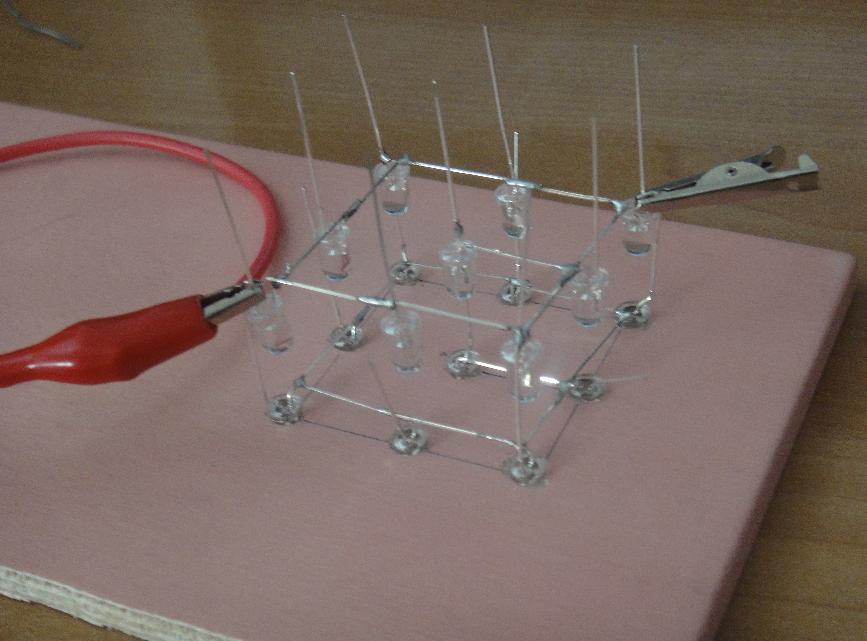 Cubo de leds 3x3x3 + Arduino (5/6)