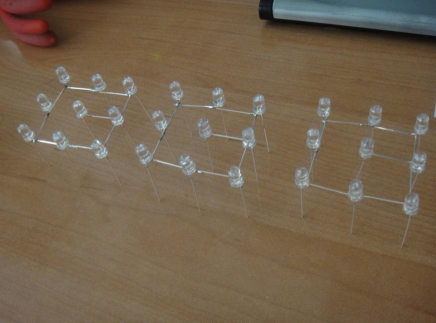 Cubo de leds 3x3x3 + Arduino (4/6)