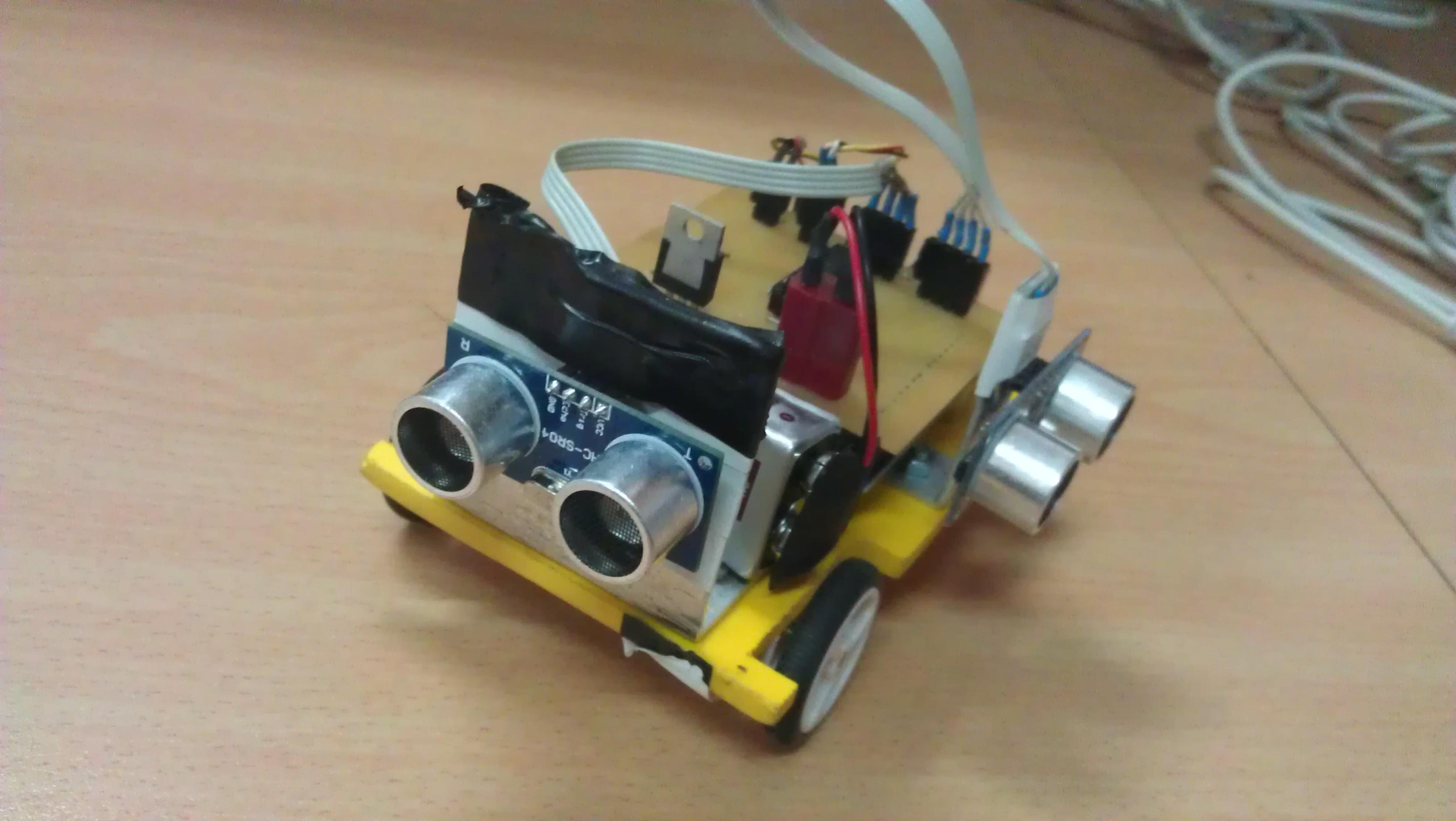 Concurso de robótica granábot